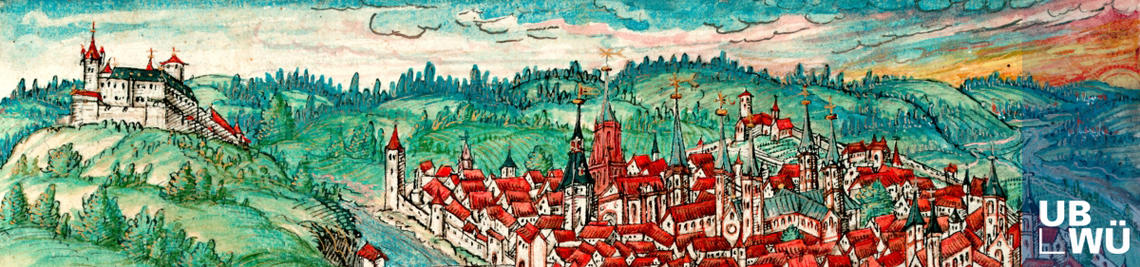 Fries-Chronik, Miniatur Würzburg-Panorama, M.ch.f.760